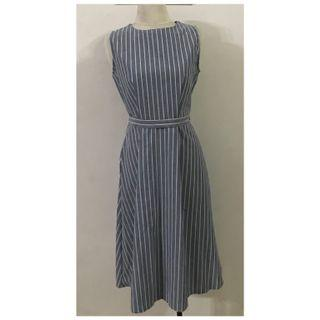Bangkok stripe casual dress