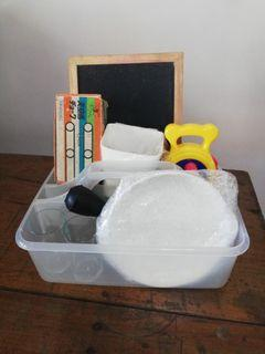 Educational toys and materials bundle 1