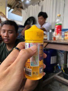 Liquid vape vaping vapor taro licious 3mg 90% an