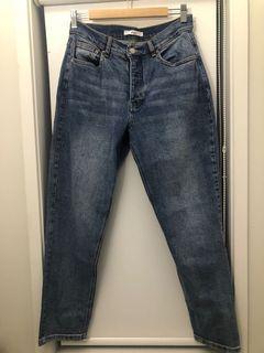 Max High Rise Straight Leg Jeans
