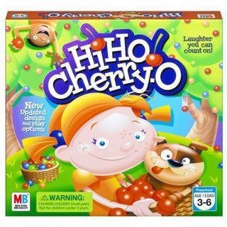Preloved Hasbro MB Hi Ho! Cherry-O Board Game Counting Game