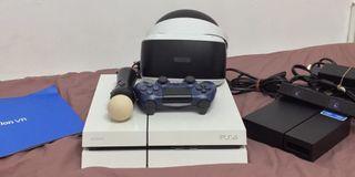 PS4加PSVR自用機雙機組合,限時特價只賣8000元 9成新
