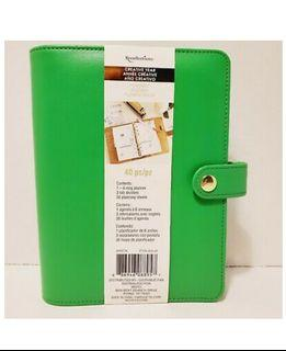 Recollections Creative Year Planner 6 Ring Binder 3 Tab Dividers New NWT