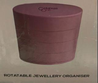 Rotatable jewellery organisers
