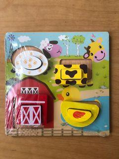 Wooden puzzle/baby puzzle/jigsaw puzzle/puzzle kayu anak