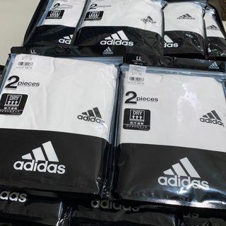 2件裝日版Adidas LL吸汗速乾T裇 sport tee