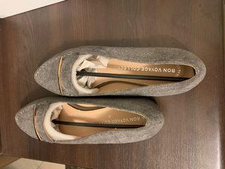 歐式甜漾細絨尖頭包鞋