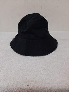 全新 ~ 台灣製 紳士帽 漁夫帽 遮陽帽 / 黑色 材質: 100% COTTON 大小可調整