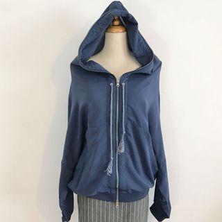 正韓製 TomoAggie 質感雪紡設計感外套