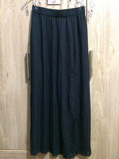Authentic Cotton On Pleated Long Skirt