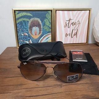 Authentic Ray Ban RB3422 Outdoorsman vintage sunglasses