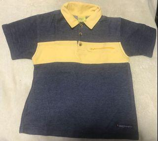 Big & Small Two toned Polo Shirt
