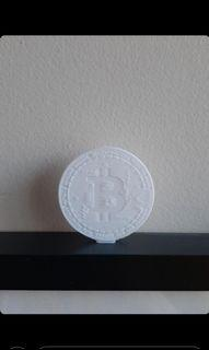 Bitcoin_decoration for library/ shelf/ desk or coin to play with.