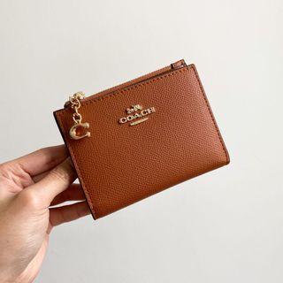 Coach Snap Card Case Wallet