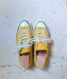 Converse chuck taylor 1970低筒帆布鞋/芥末黃/151229C/25.5//中性男女款/88%new