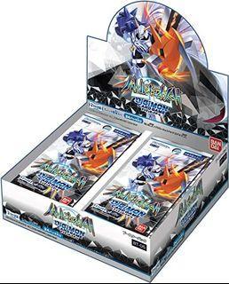 Digimon BT05 Booster Box