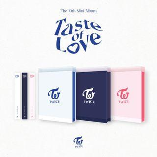 Early WTS SEALED twice taste of love albums