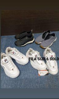 Fila, Airmax and Jordan