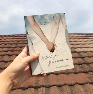 I Heart You, You Haunt Me by Lisa Schroeder (Poetry) [Preloved/Original]