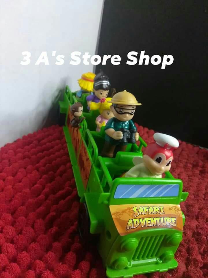 Jollibee Safari Adventure Sealed Hobbies Toys Toys Games On Carousell