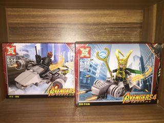 Lego Furry dan Loki