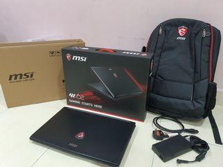 MSI GL62 6QE I7-6400HQ/8GB Ram/1TB HDD Gaming Laptop