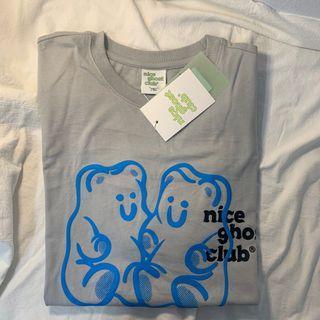 🇰🇷Niceghostclue幽靈俱樂部橡皮熊短袖上衣#618