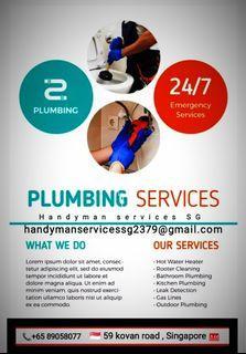 Plumbing services 24/7
