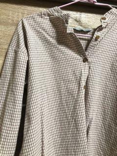 Queenshop格子襯衫