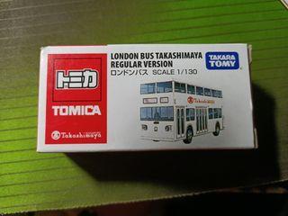 *RARE* Tomica Takashimaya London Bus Regular Version