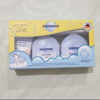 Sanosan baby bath & shampoo (travel size)
