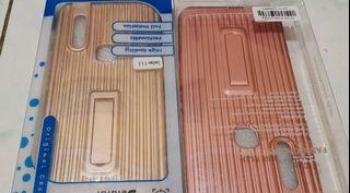 Soft Case Vivo V15 Softcase Plus Stand Holder