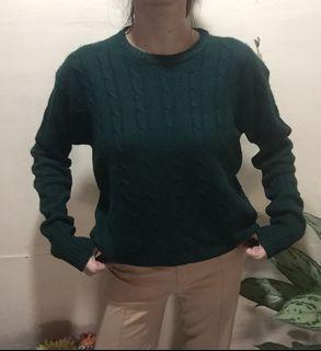SWEATER RAJUT KEPANG UNISEX (cable knit)