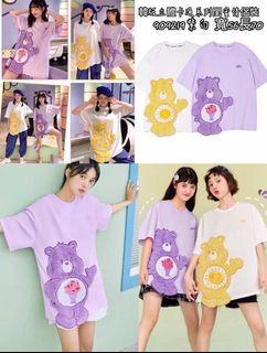 預購 姐妹閨蜜裝彩虹熊短袖T恤