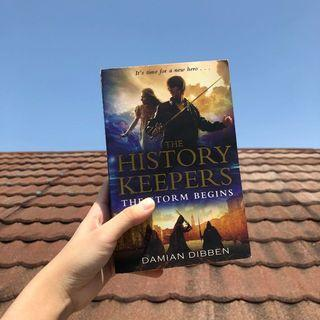 The Storm Begins by Damian Dibben (History Keepers Book 1) [Preloved/Original]