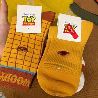 Woody 胡迪 祙子 襪子3對 toystory