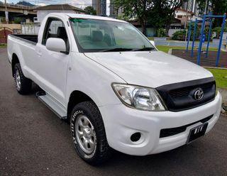 2010 Toyota Hilux 2.5 Single Cab (M) 4X4 Siap Padang Bedliner