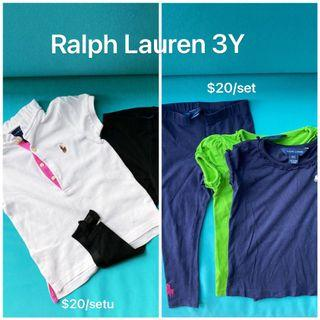 3Y Ralph Lauren, Tommy Hilfiger, nicholas & bears, Chateau de sable, Mothercare