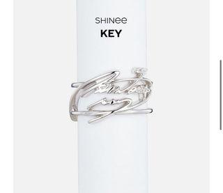 [換] SHINee Key 換 溫流 簽名戒指 SM