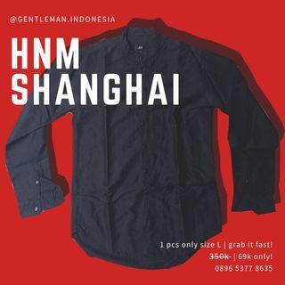 🇯🇵 (SISA SATU) H&M kemeja size L (Kerah Shanghai/ Casual/ Premium/ HnM)