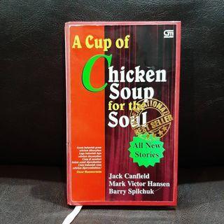 (HC) A Cup of Chicken Soup for the Soul - buku terjemahan hardcover kisah nyata inspiratif kumpulan cerpen - buku bekas preloved