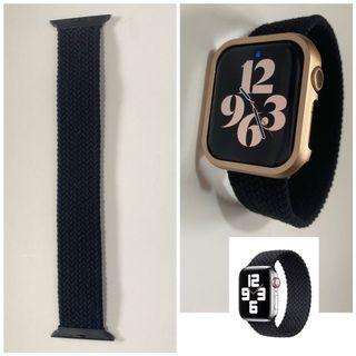"""Watch Strap Braided Solo Loop for Apple Watch_42_44MM_Fits Wrist Size 7""""-8"""""""