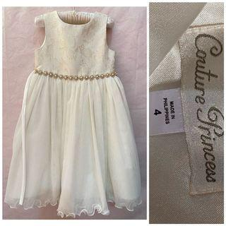 BN Couture Princess Gown_4T fits 3-5T