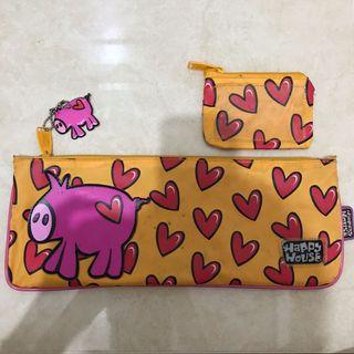 Happy House Piggy Pencil Case