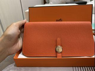 Hermes Dogon Wallet 100% Authentic