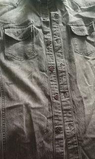 Kemeja Jeans Stretch