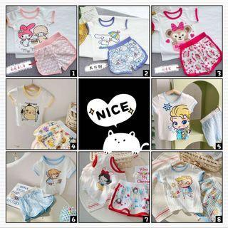Kid Clothes Short Set Comfortable & Cute CottonShort Set