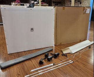 Midio 4 Mini Photo Studio Portable SoftBox