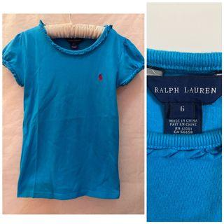 Ralph Lauren Ruffled Edge Top_6T_Euc