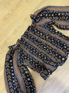 sabrina batik top
